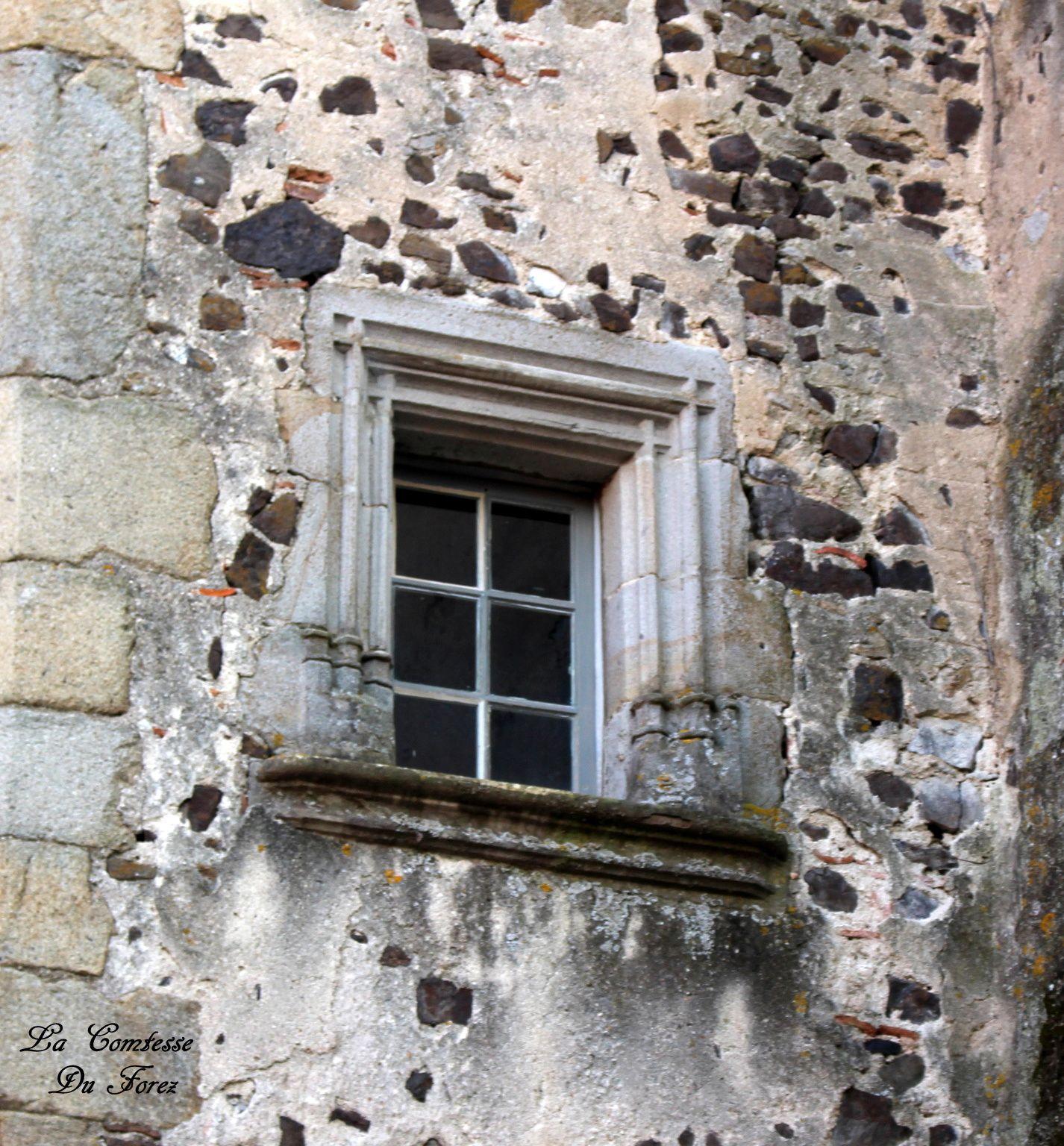 Château de Chalain d'Uzore (42, Loire)