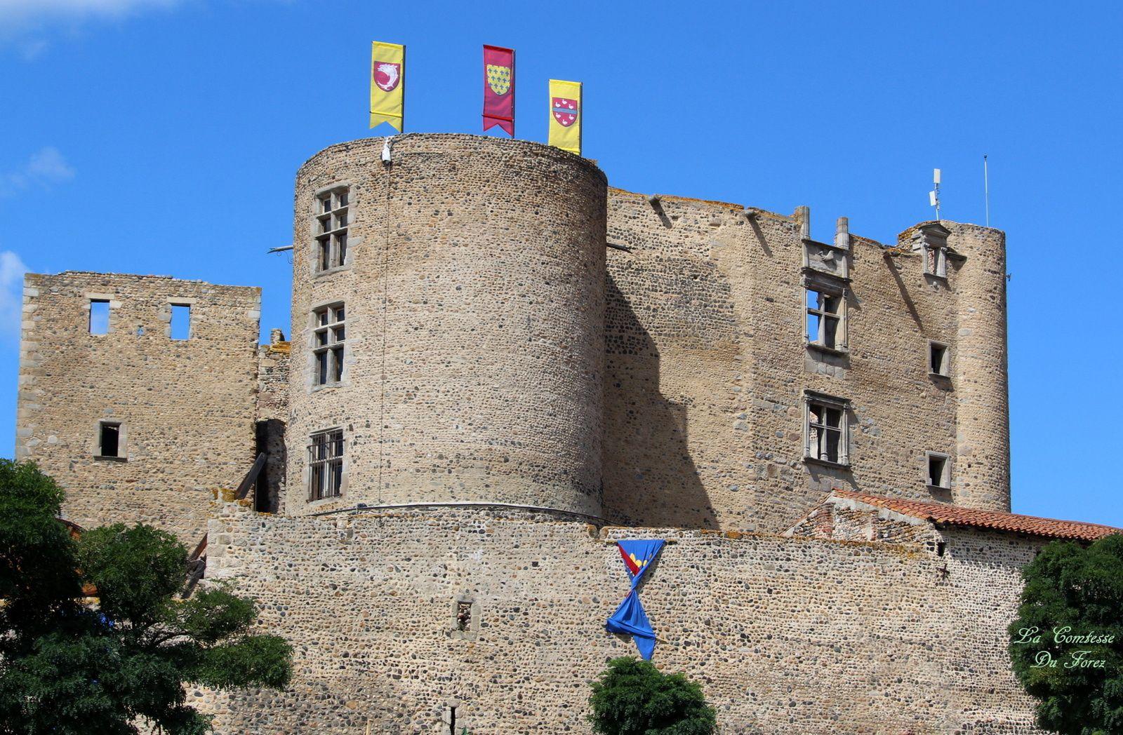 Château Montrond-Les-bains (42210, Loire) Fête Médiévale 2017