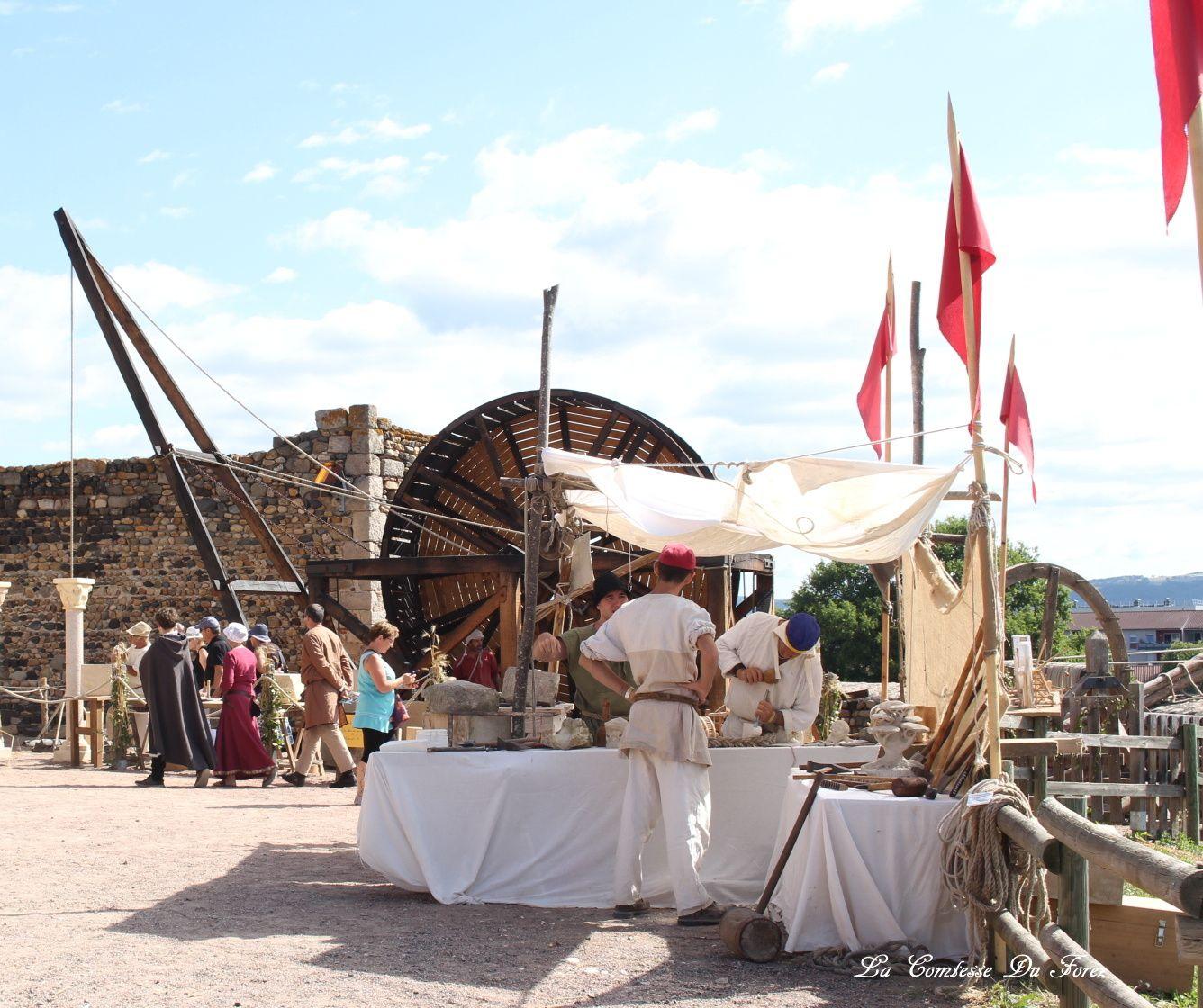 Fête Médiéval Montrond-le-Fort 2017 (42, Loire)