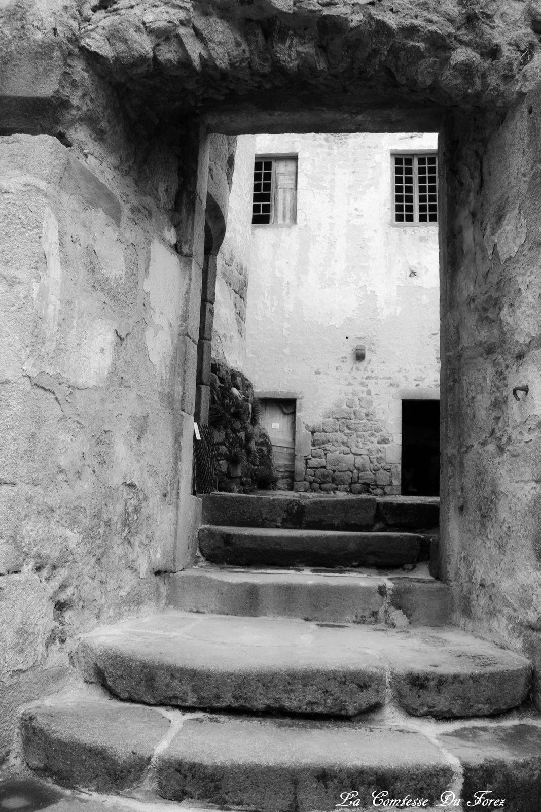 je poursuis ma visite entre les murs du château