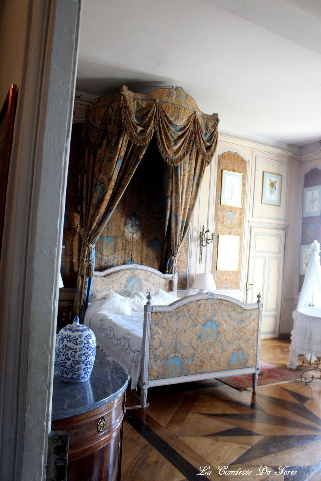 Château de Drée (71800 Curbigny) 2) Les intérieurs