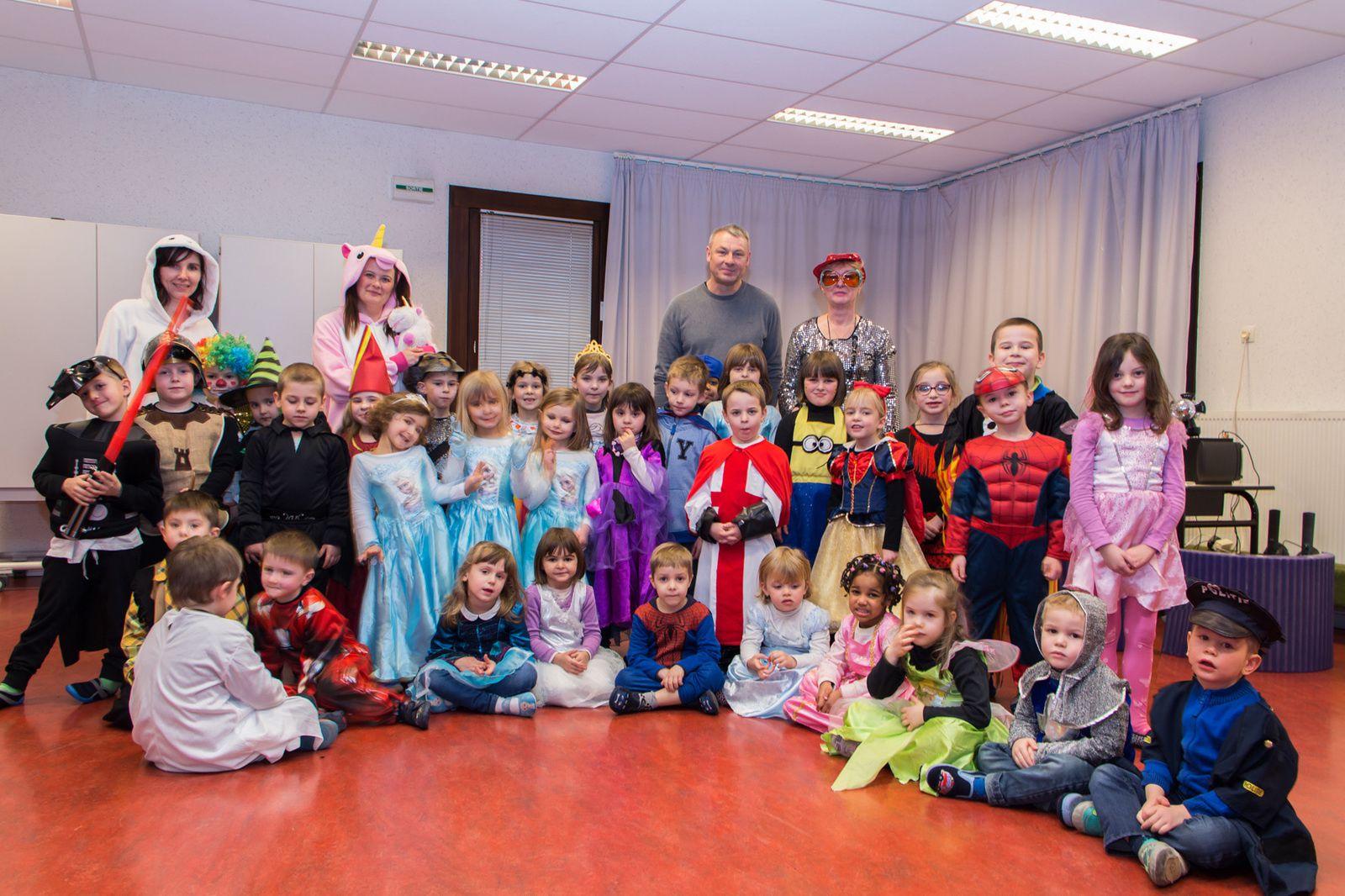 Carnaval à l'école du Tilleul