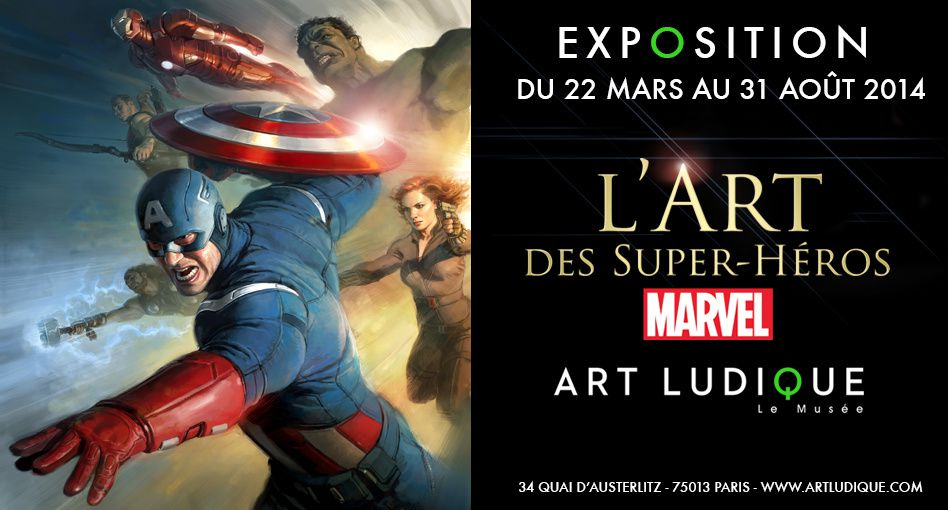 Marvel à l'Art ludique.