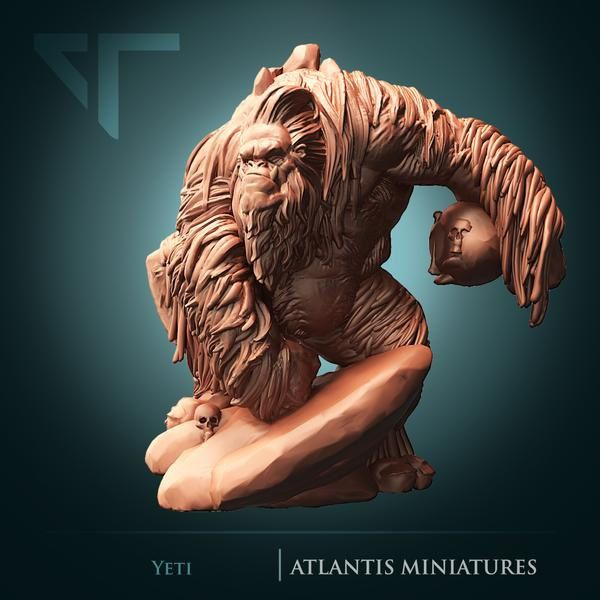 Atlantis Miniature