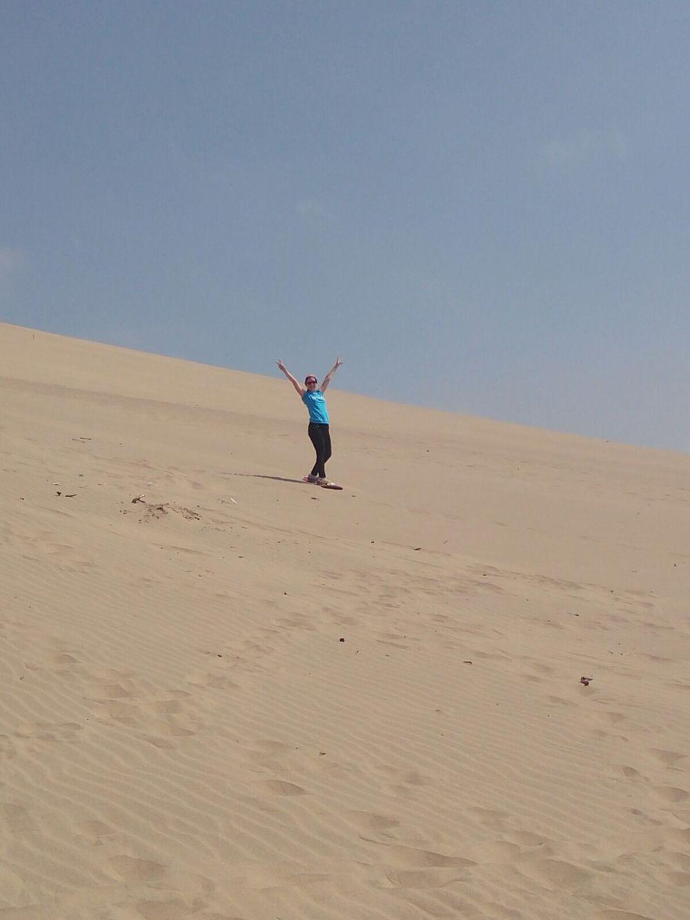 17 août 2015: Du sable, du sable PARTOUT