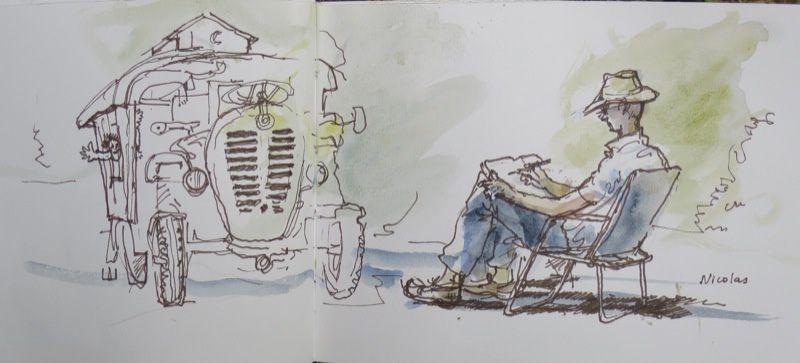 #44e worldwide sketchcrawl de la saint olivier
