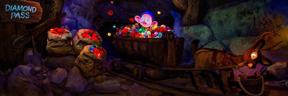 Le grand huit de Blanche Neige à Walt Disney World