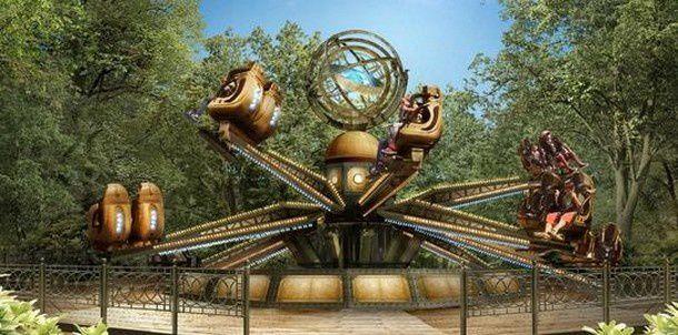 L'astrolabe © Le Jardin d'Acclimatation