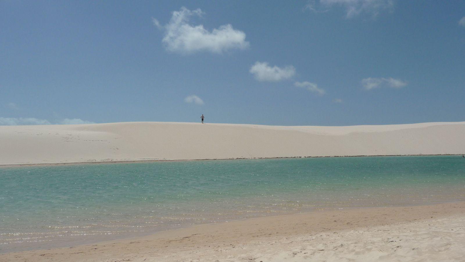 Lagoa Tropical - Lençóis Maranhenses