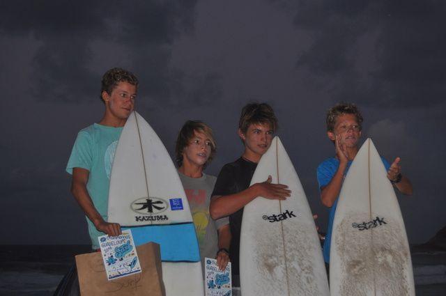 3ème en surf Cadet