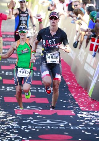Kathleen finish@70.3 World Championships Autriche