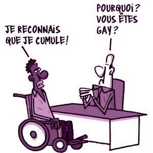 277. Qui est handicapé ?