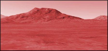 Mars, la rouge