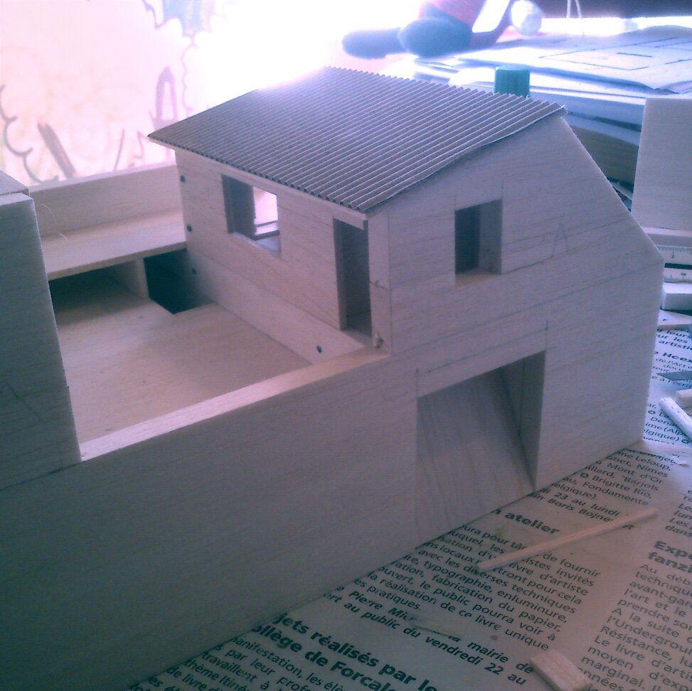 Maison cachée - maquette (3)