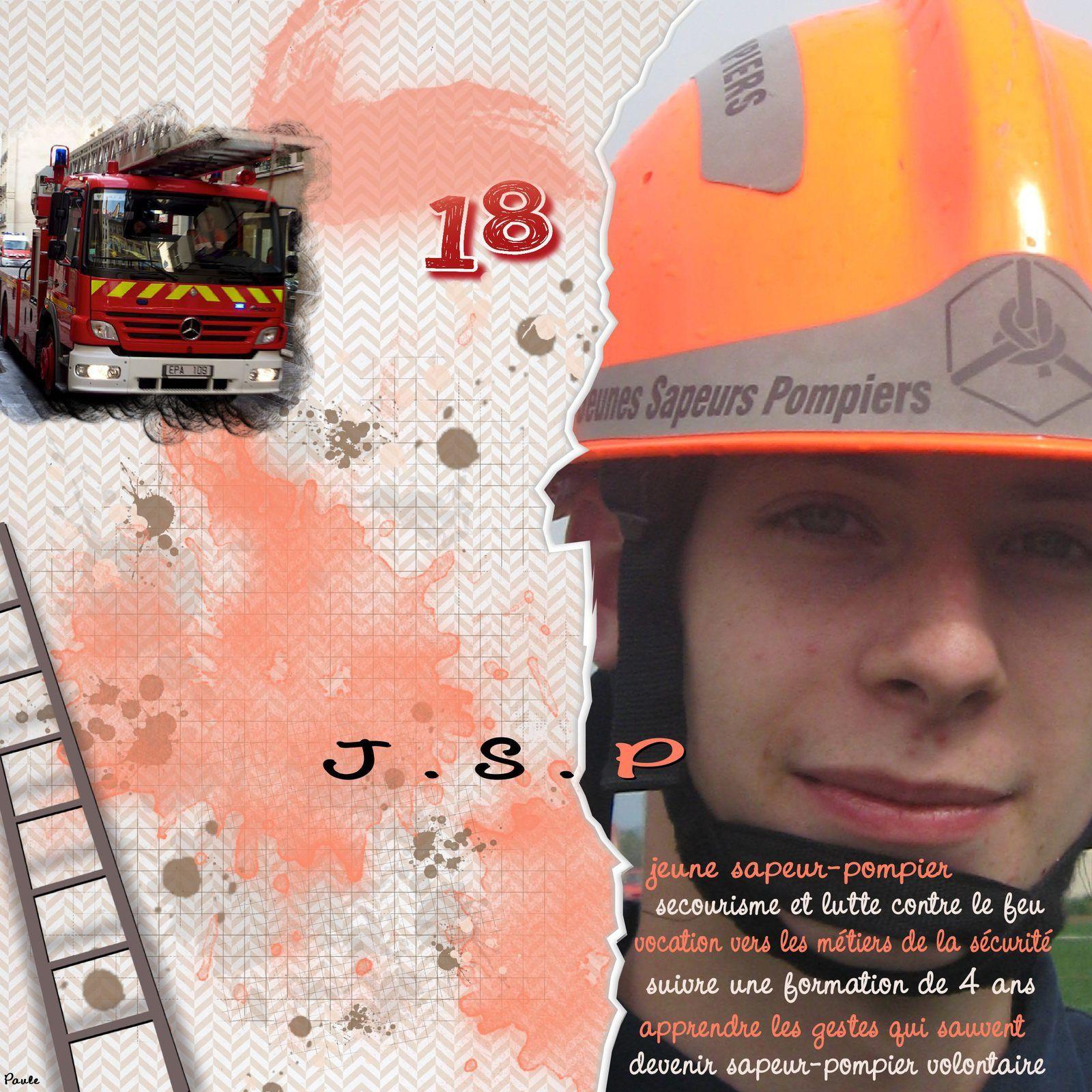 Jeune sapeur pompier