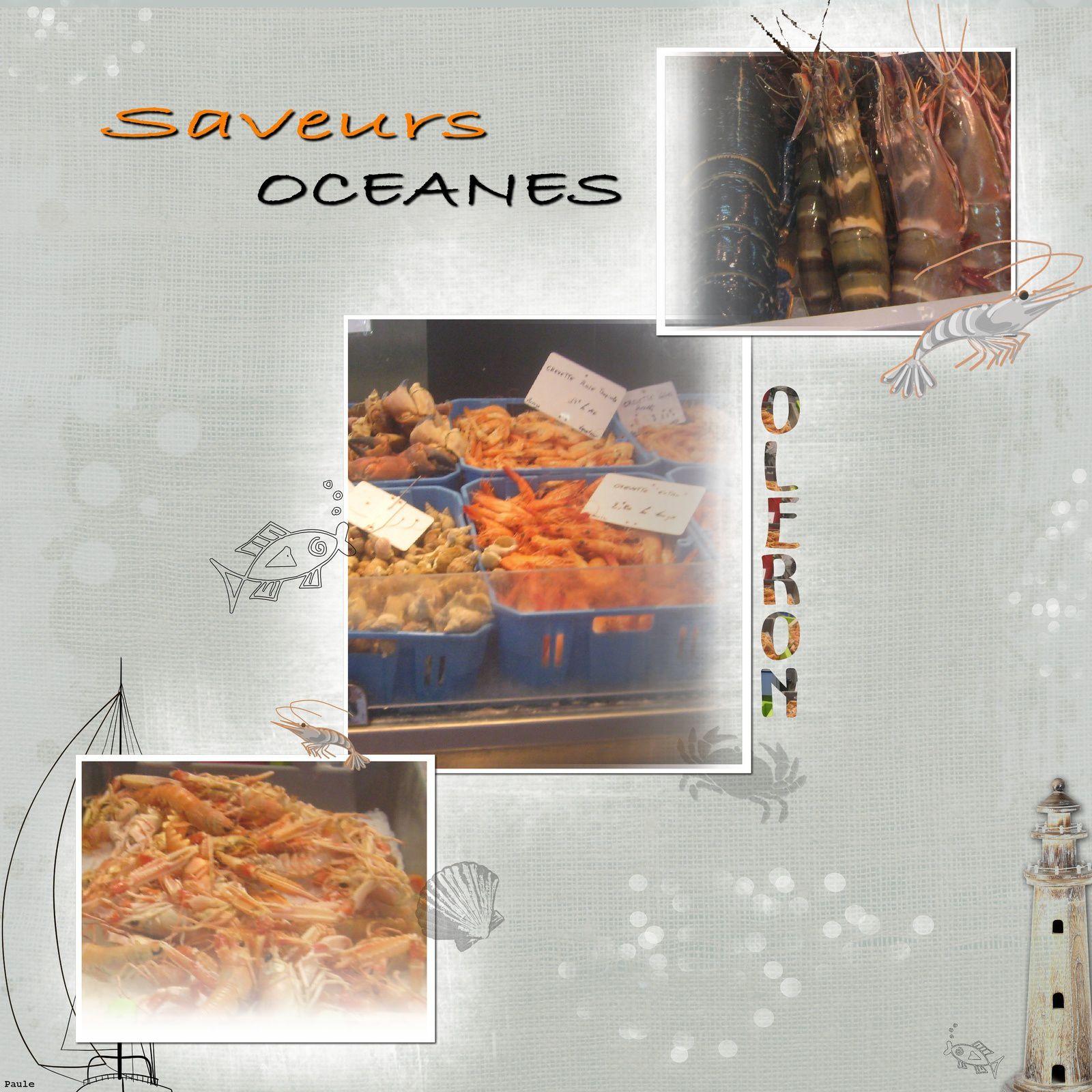 Saveurs océanes.