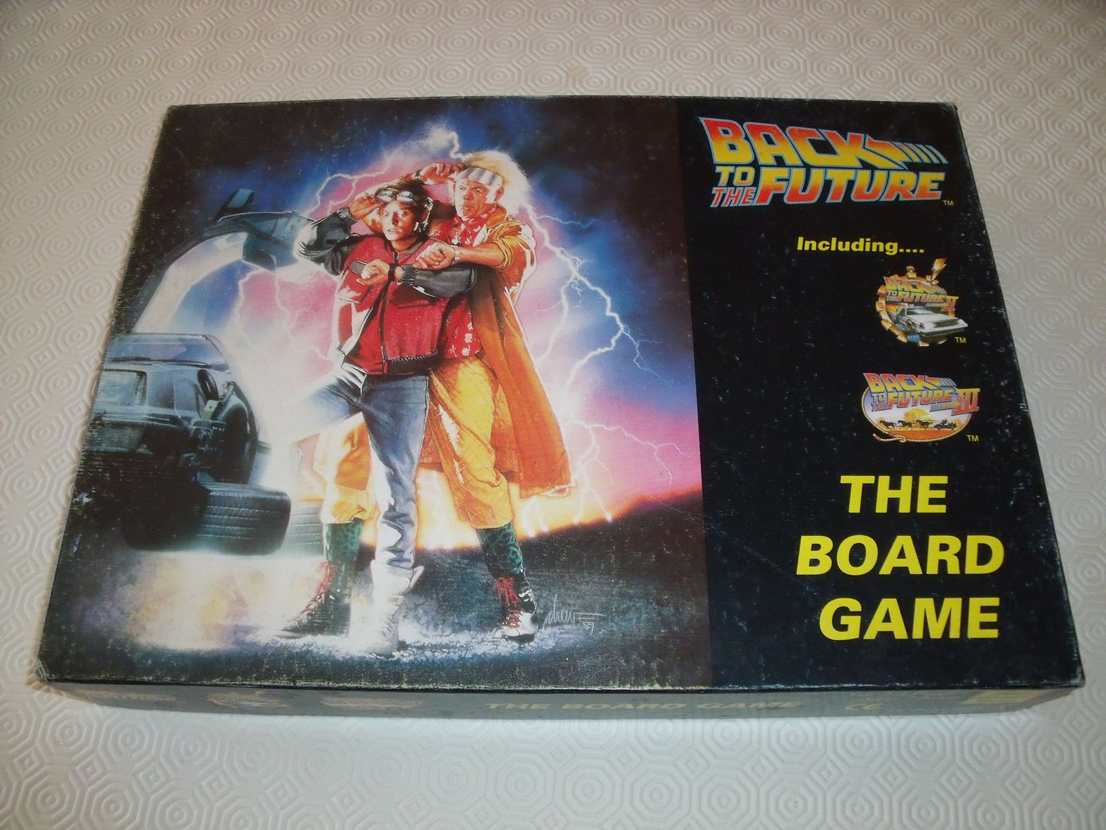 Mes amours 5.3.2 : Chronique de &quot&#x3B;Back to the Future - The Board Game&quot&#x3B;