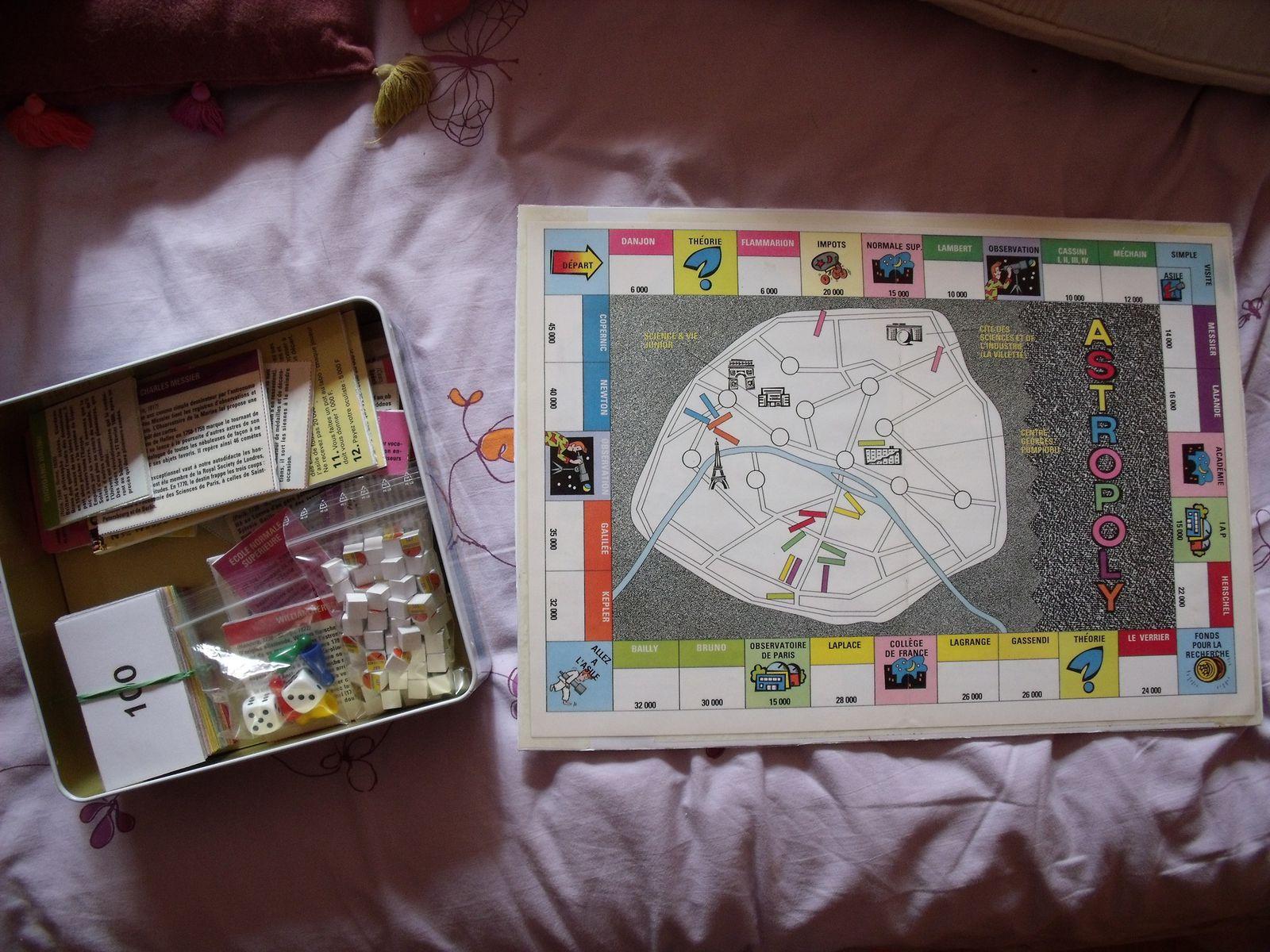 Astropoly (jeu maison)
