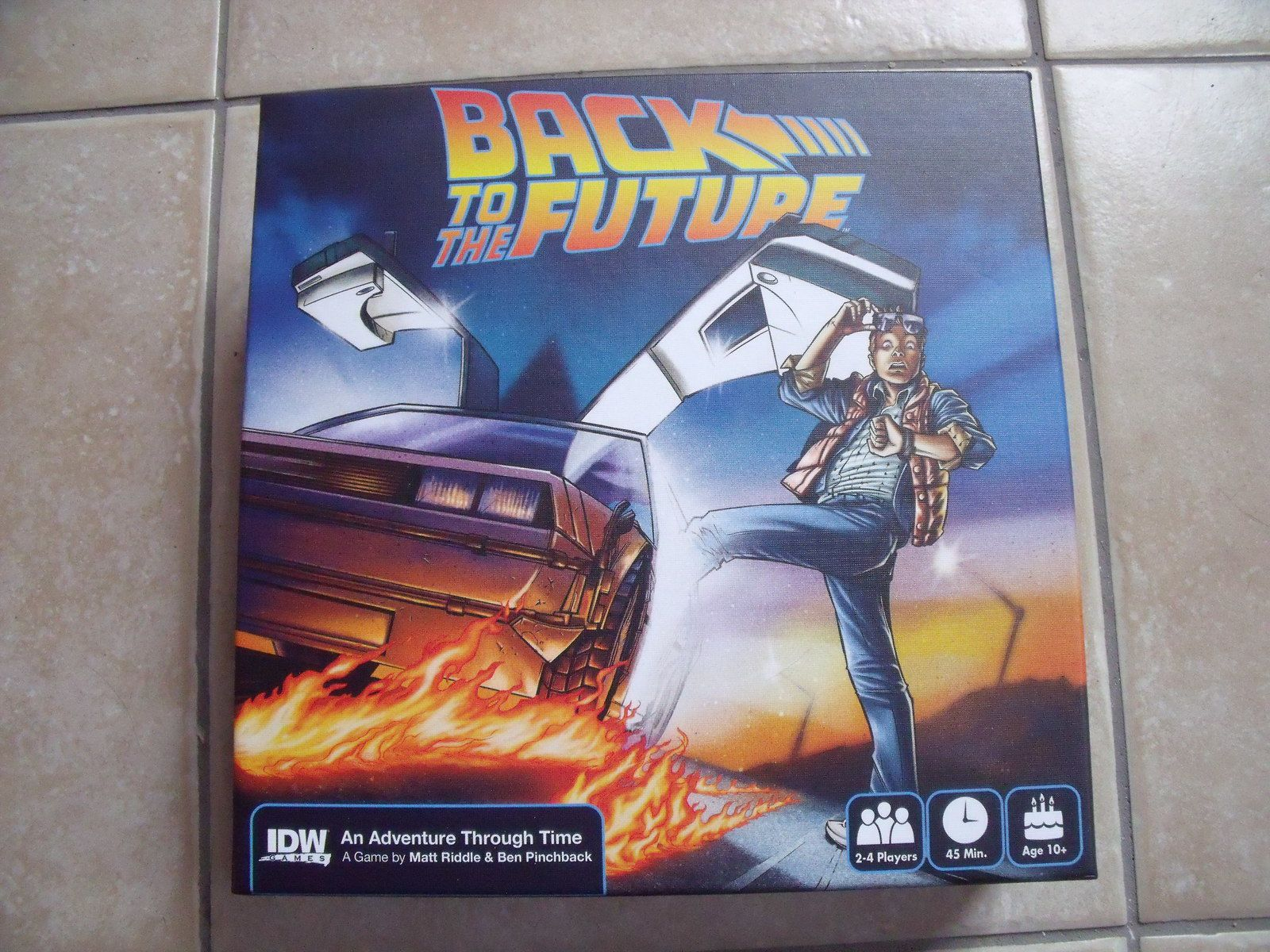 Le 412e jeu : Back To The Future - An Adventure Through Time