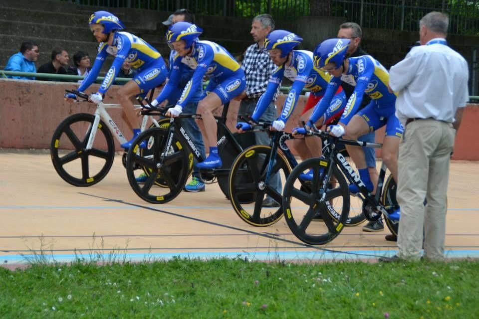Piste - Championnats Rhône Alpes 2015