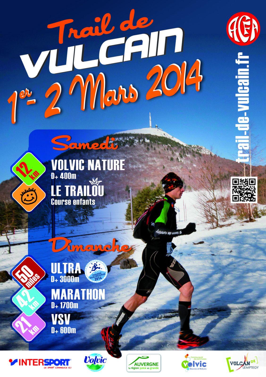 Ultra-Trail de Vulcain - 50 Miles 3000D+ Volvic 2014