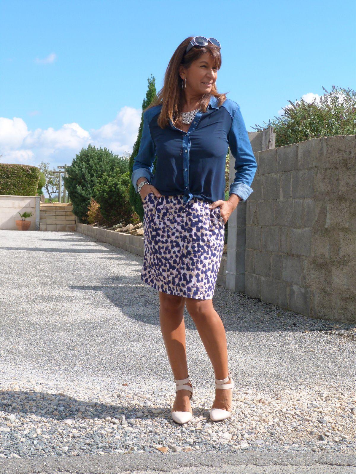 Blue léopard