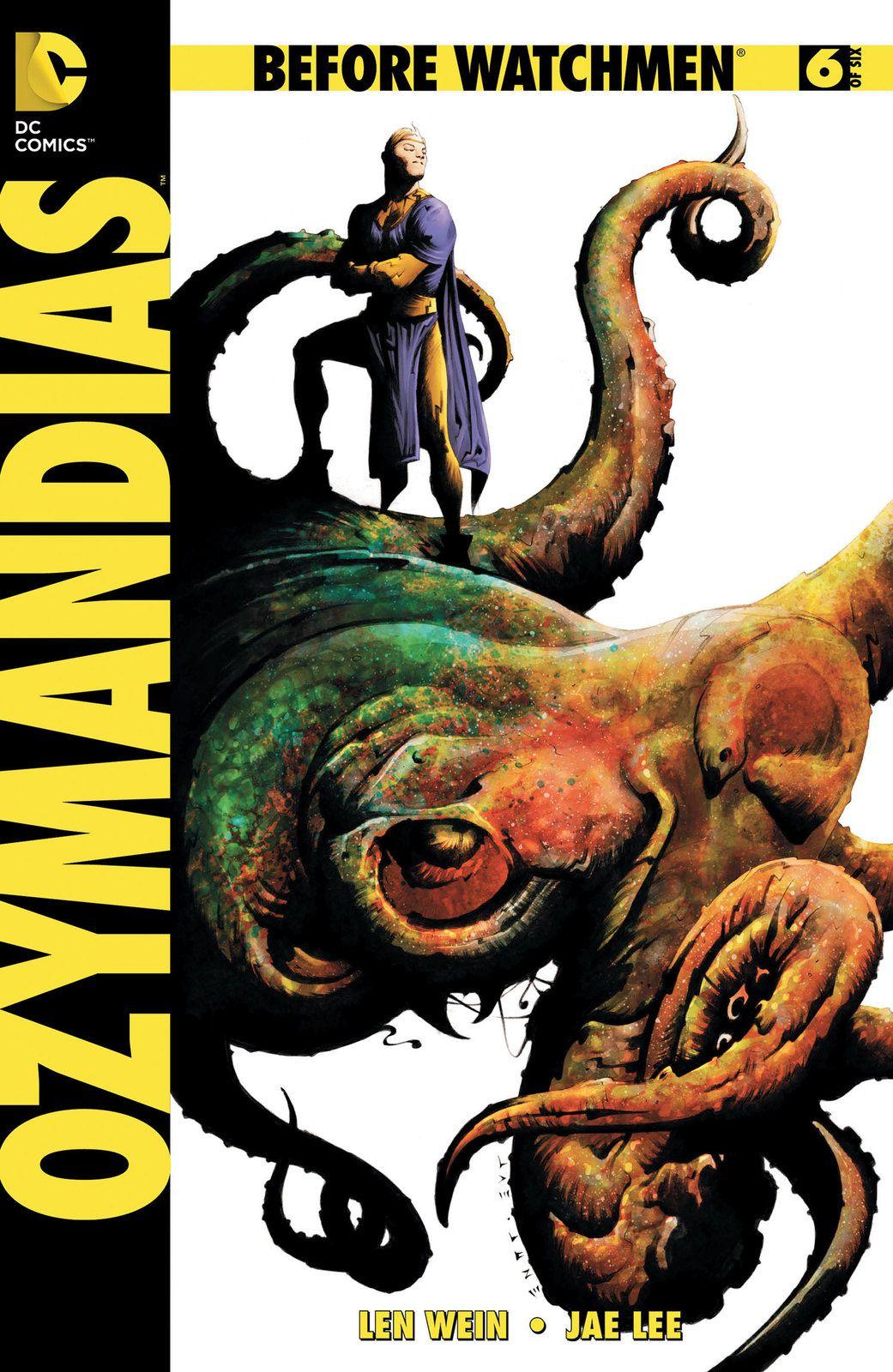 Couverture originale de Ozymandias #6