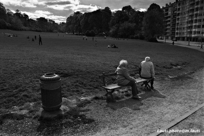 Bronzette au parc