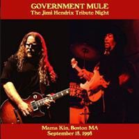 Gov't Mule 18/09/1998 Tribute to Hendrix