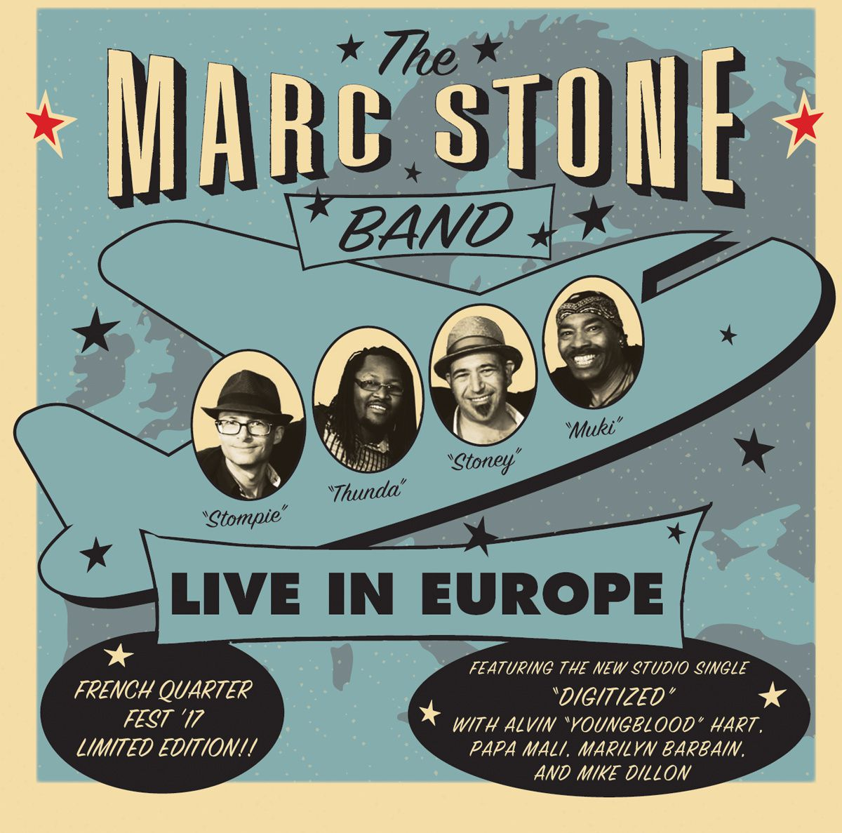 MARC STONE -LIVE IN EUROPE