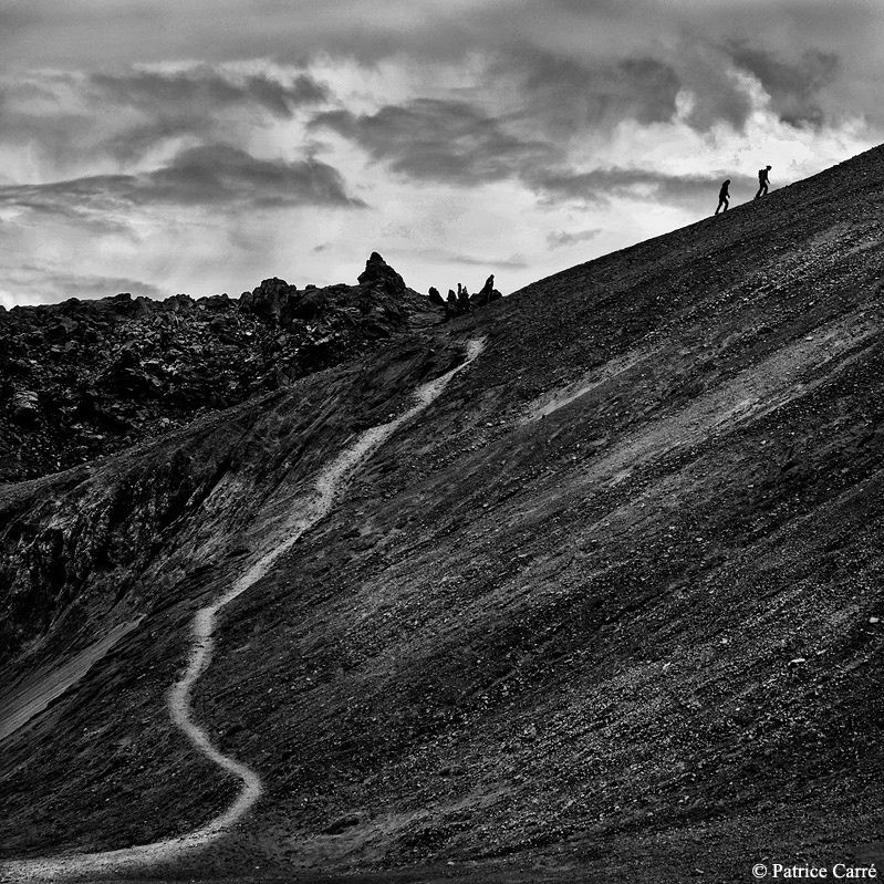 Islande en noir et blanc - 1