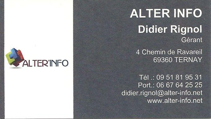Alter 'info, nous sommes éditeur de logiciel Lyonnais spécialisé dans le domaine de l'insertion...
