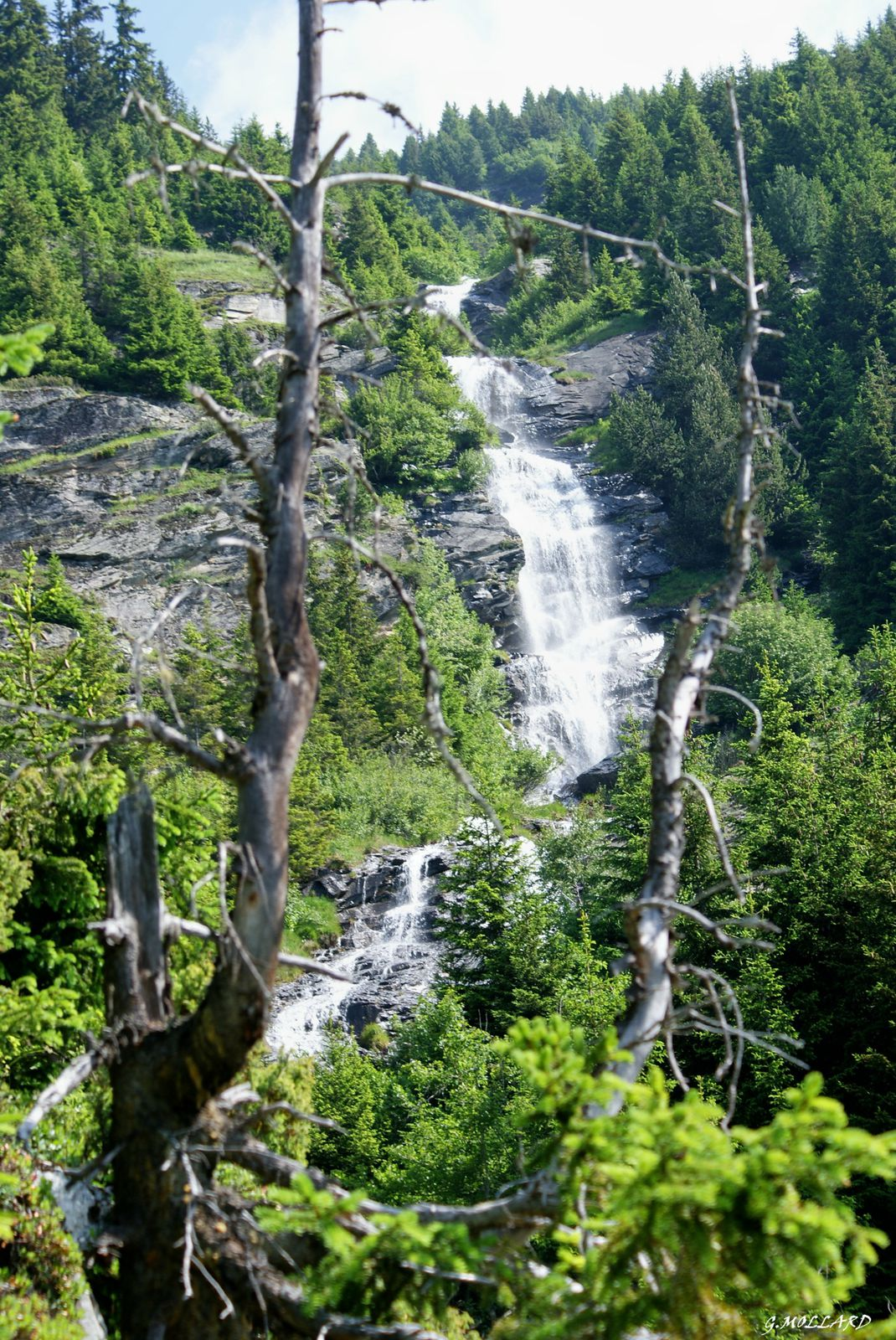 la superbe cascade du Riamet.