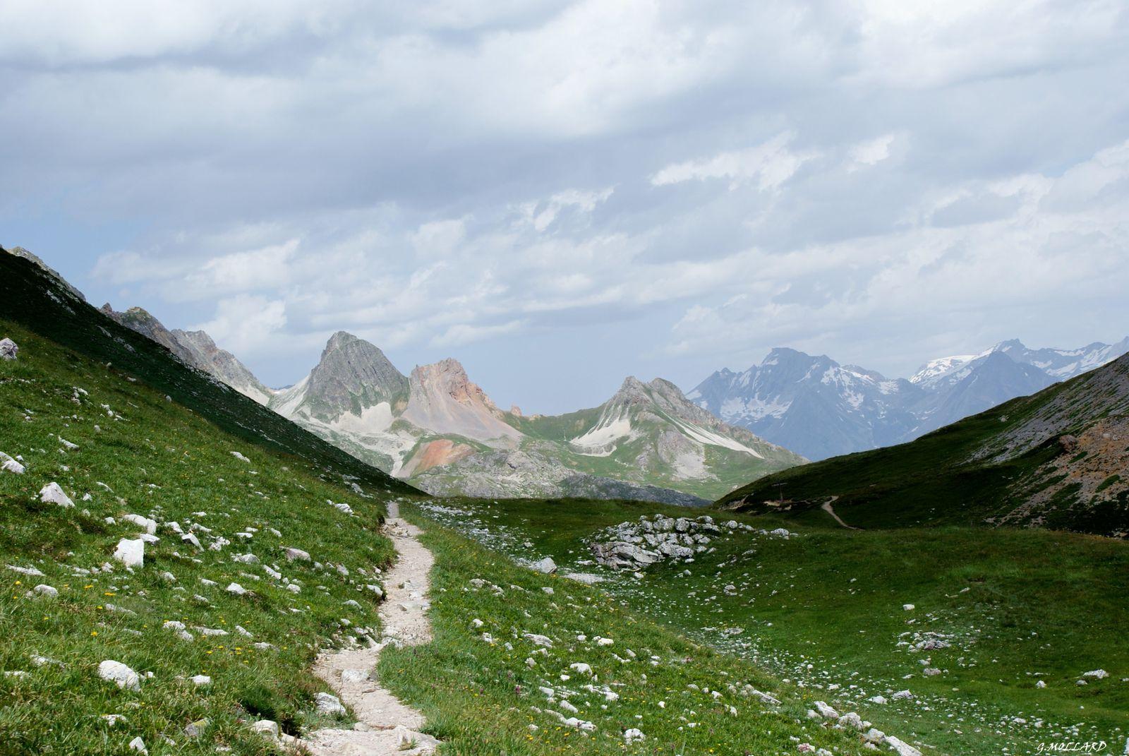 Le mont THABOR par VALFREJUS,le Lavoir, col de la vallée étroite, lac du Peyron et col des Méandres