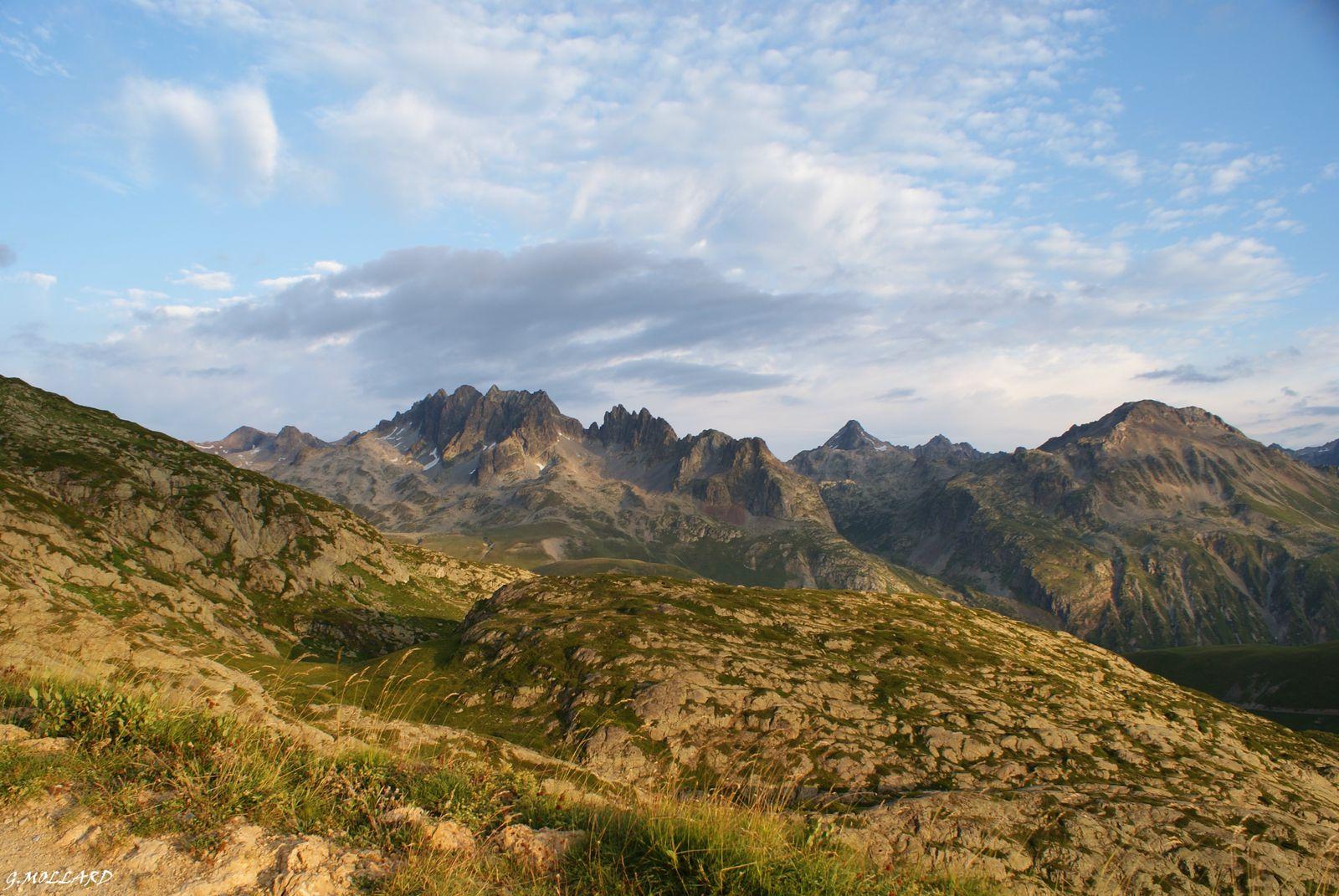 Col de la croix de fer/  refuge et Glacier de l'Etendard/St Sorlin d'Arves/Aiguilles D'Arves