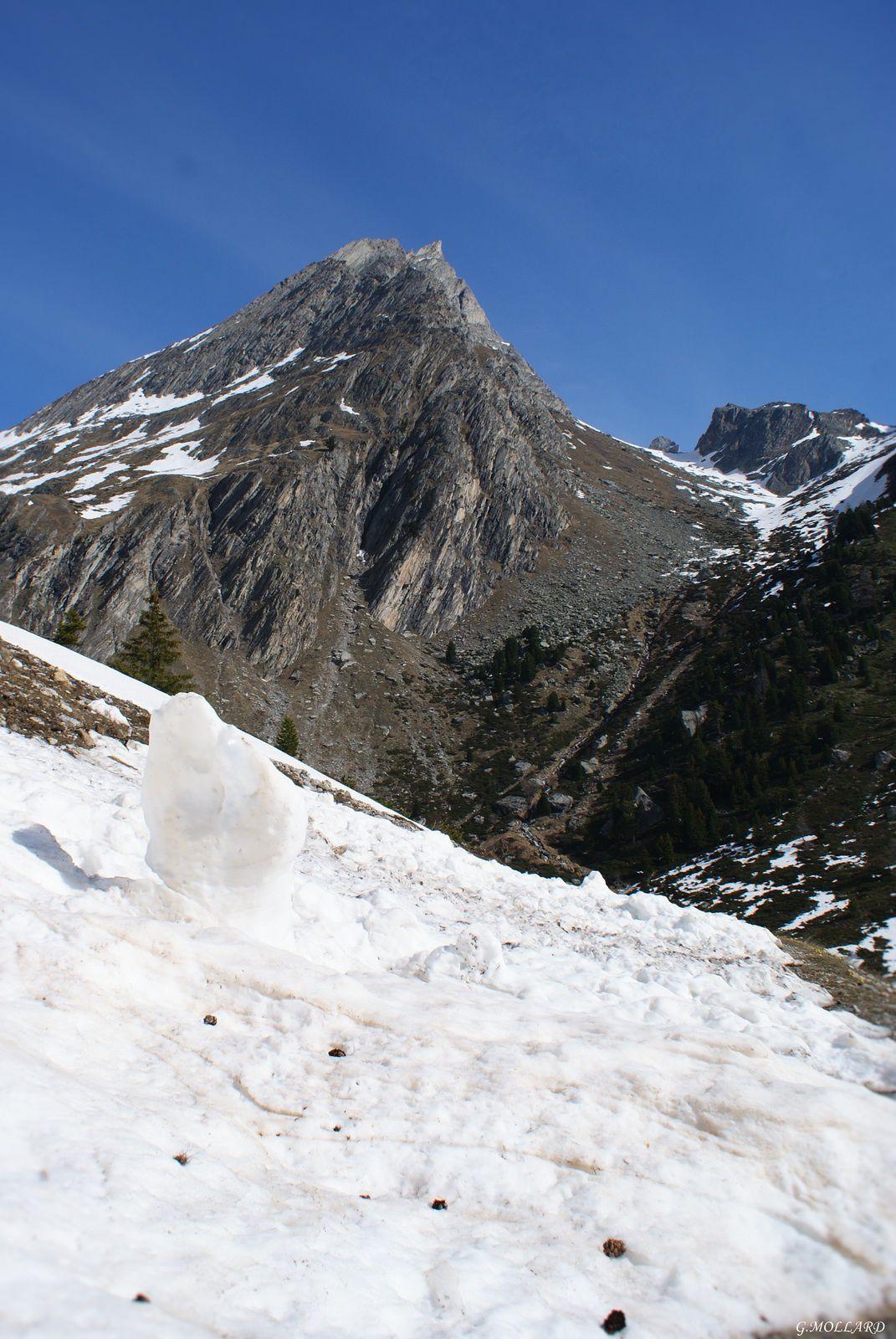 Randonnée de printemps/ marmottes/Cascades/savoie,Maurienne.
