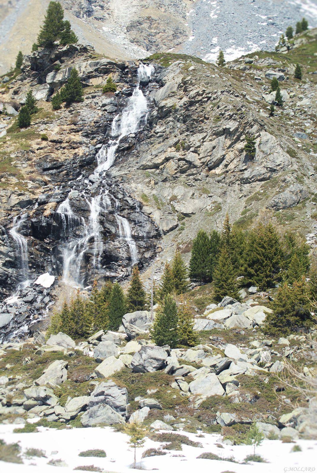cascade du ruisseau blanc.