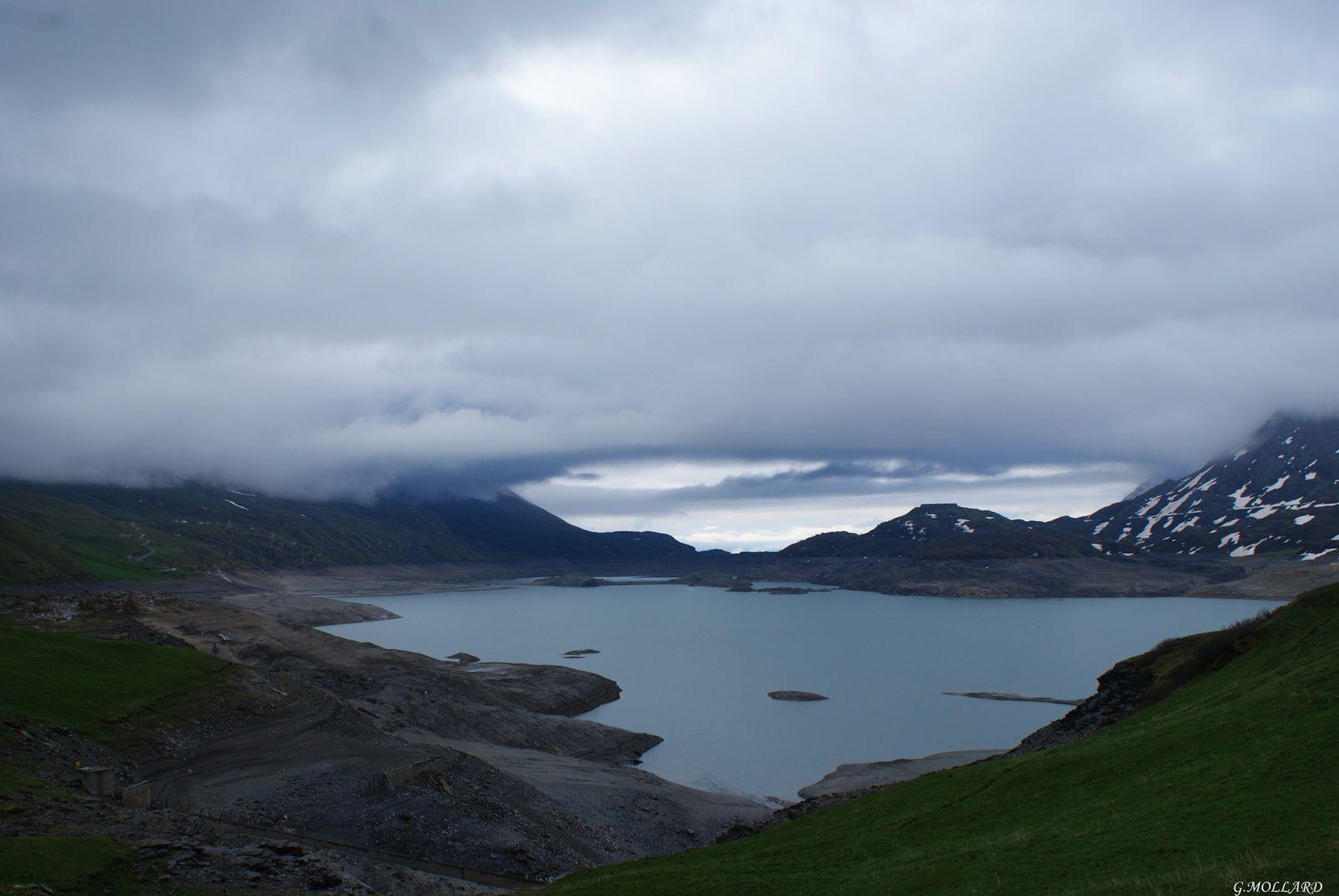 lac,barrage du mont-Cenis.