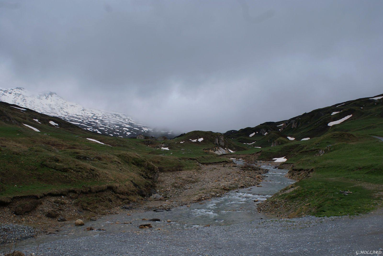 Tour du lac du mont cenis,Lanslebourg,haute Maurienne.