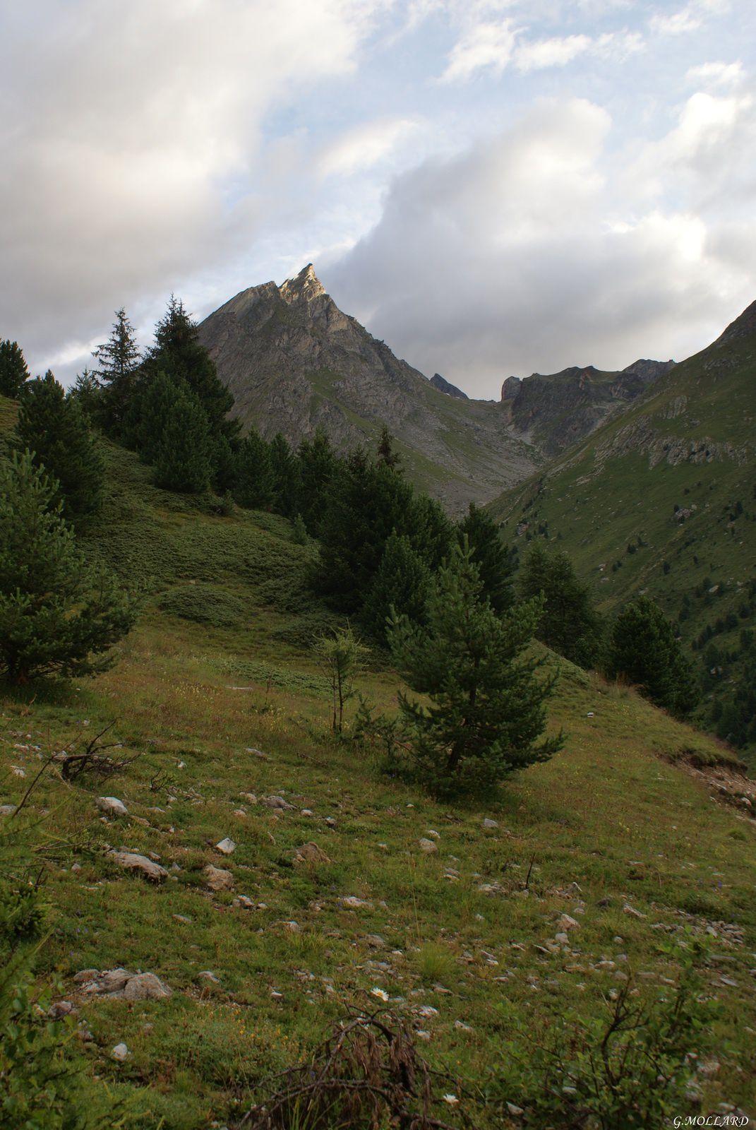 l'Aiguille Doran 3040 m.