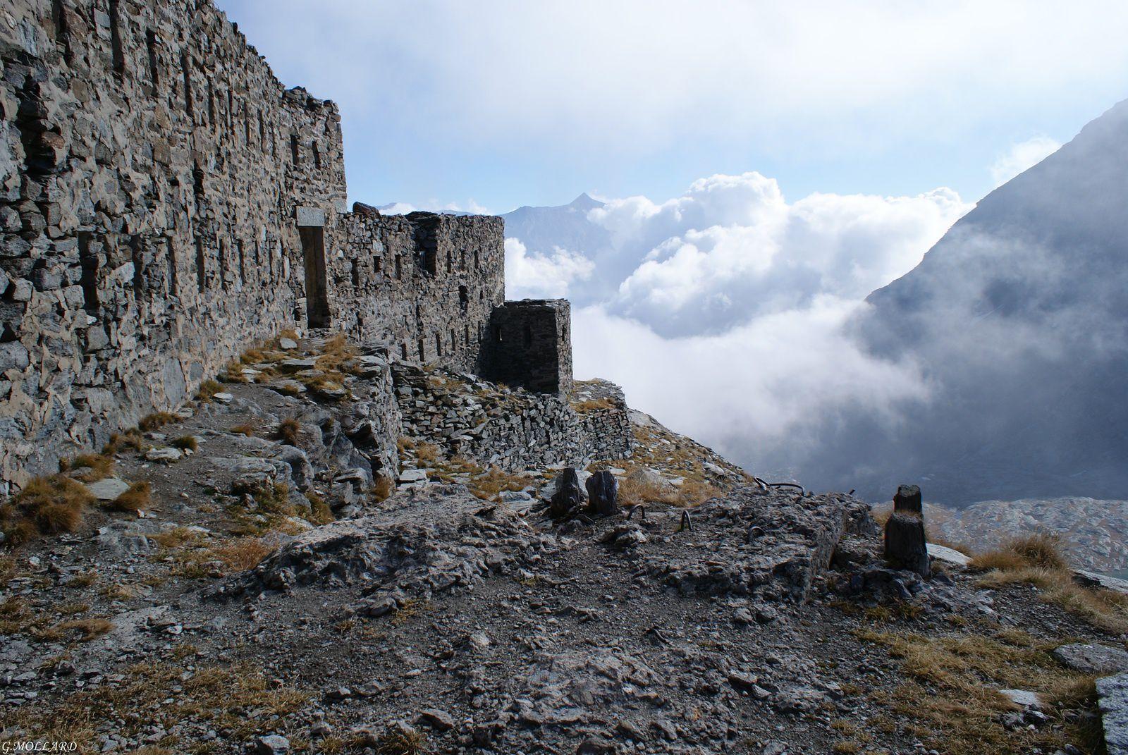Fort Malamot/Mont Cenis/pointe Droset/Lac Blanc.