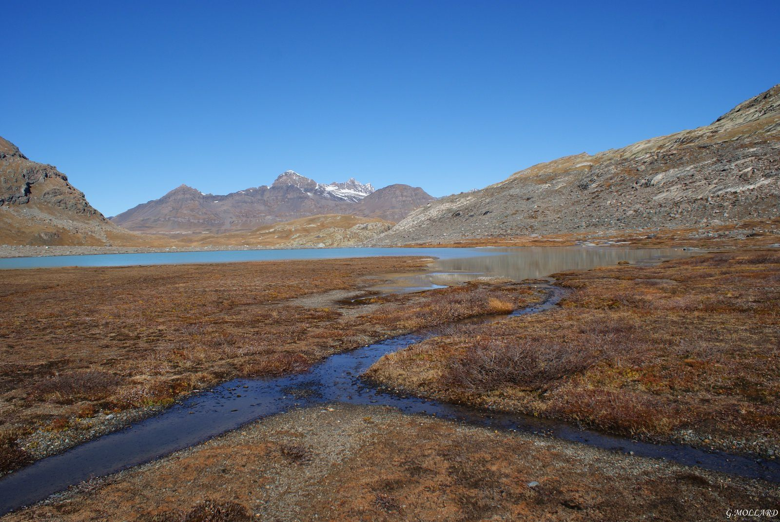 Affluent des glaciers.