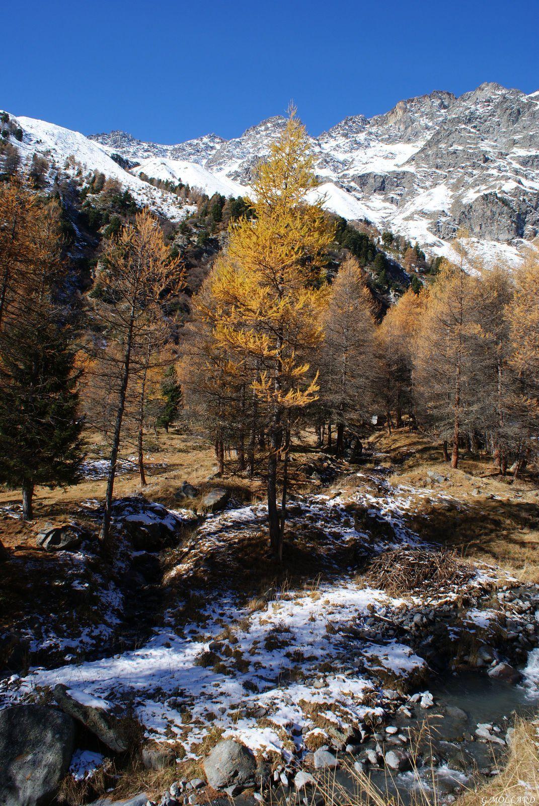 Premières neiges d'automne / Valfréjus / Polset / 2 jours au cœur de l'automne