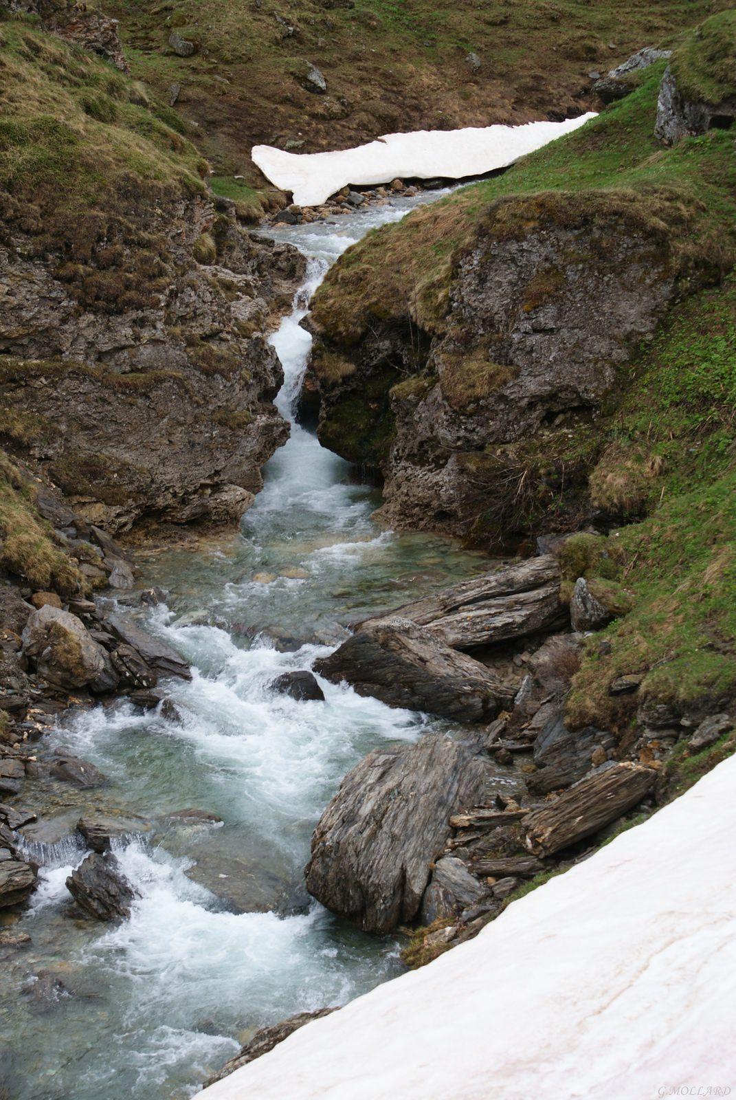 affluent du barrage du mont Cenis