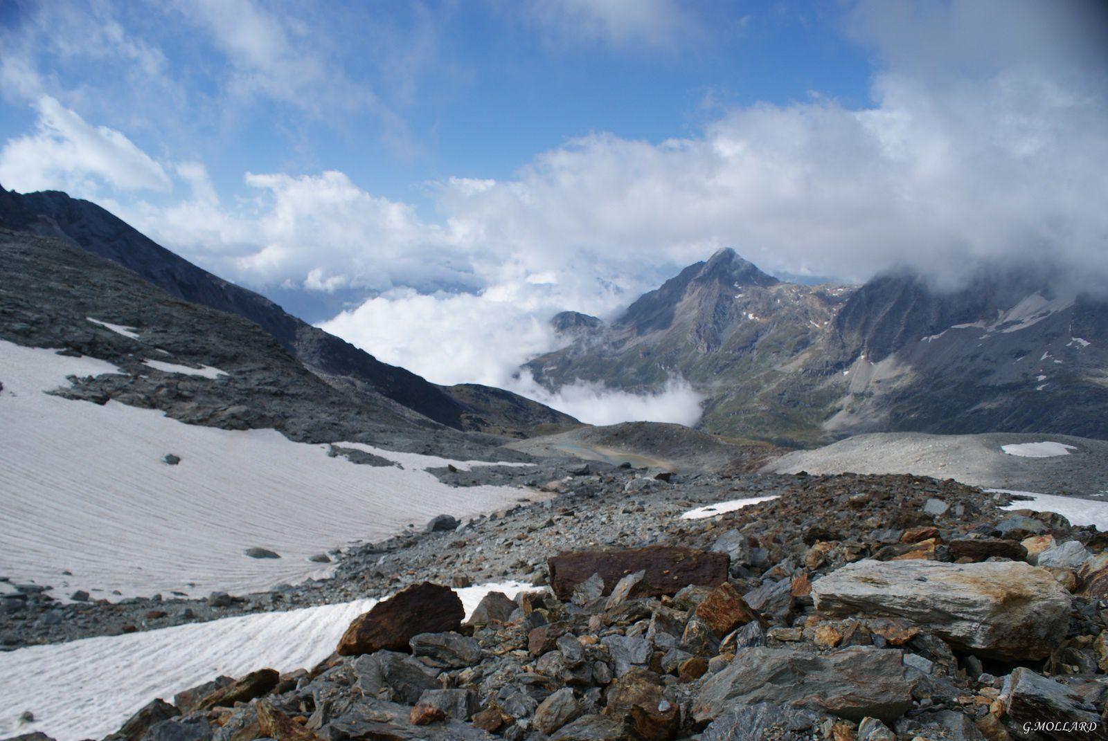sous le glacier de Labby.