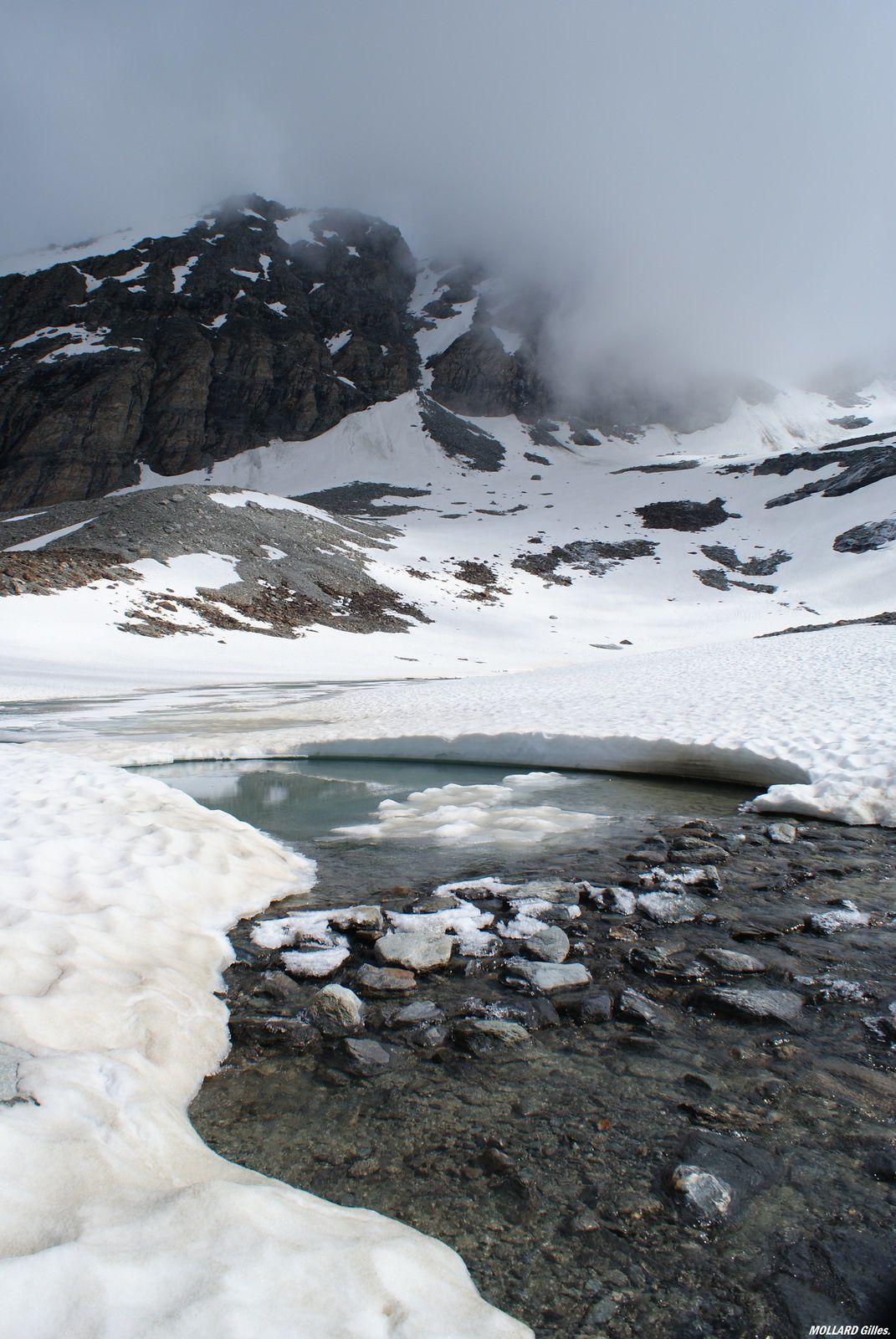 Le lac du génepy