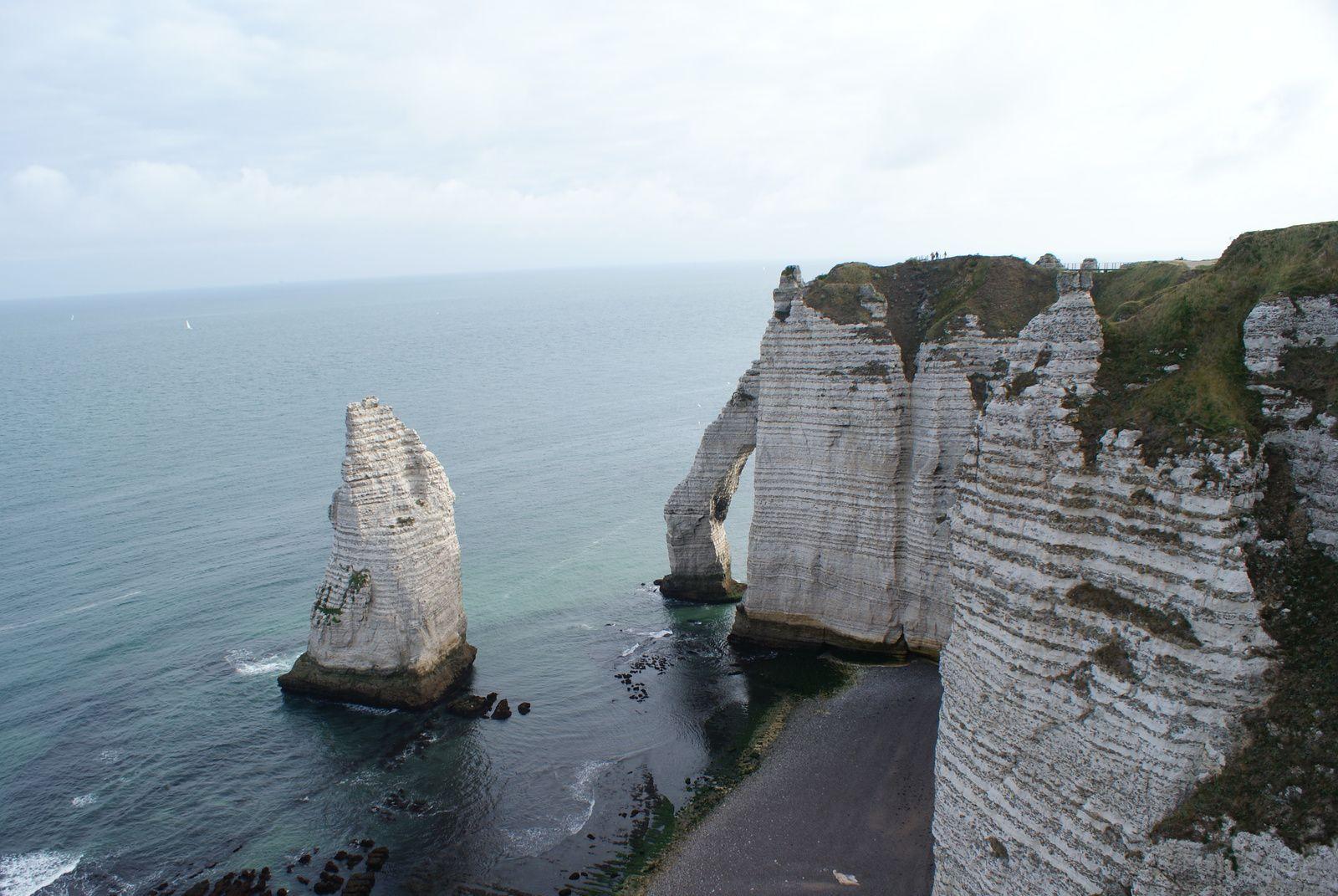 L'Aiguille et la Porte d'Aval.