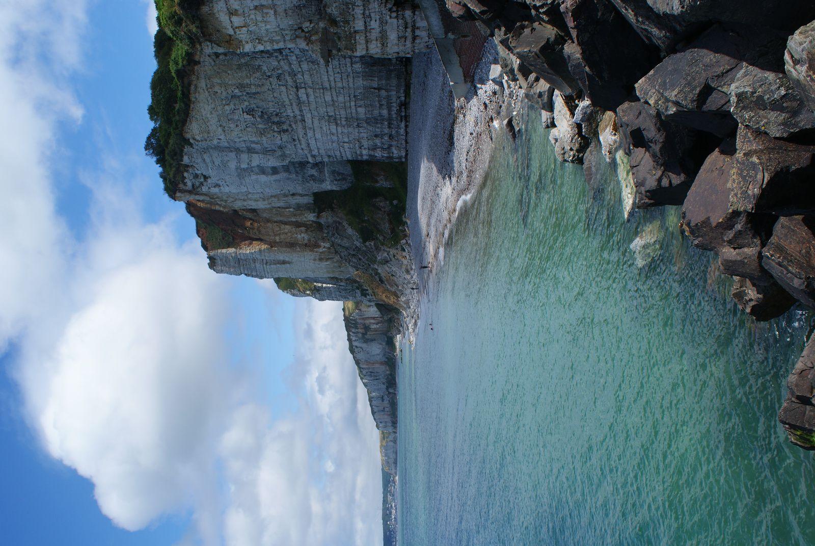 La cote d'albâtre, falaise d'Etretat.