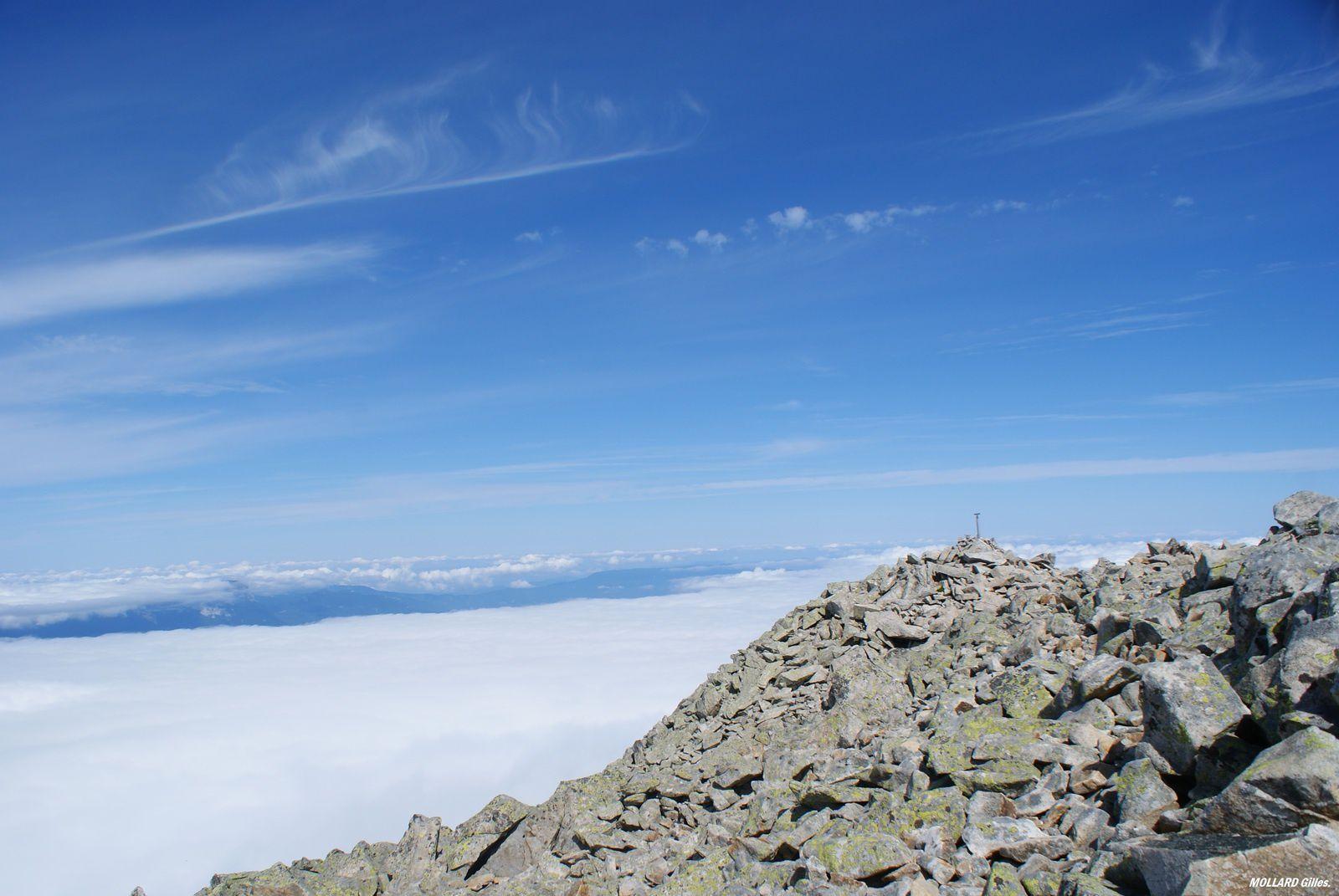 Les Grands Moulins 2495 m par St Rémy de Maurienne et le col d'Arpingon