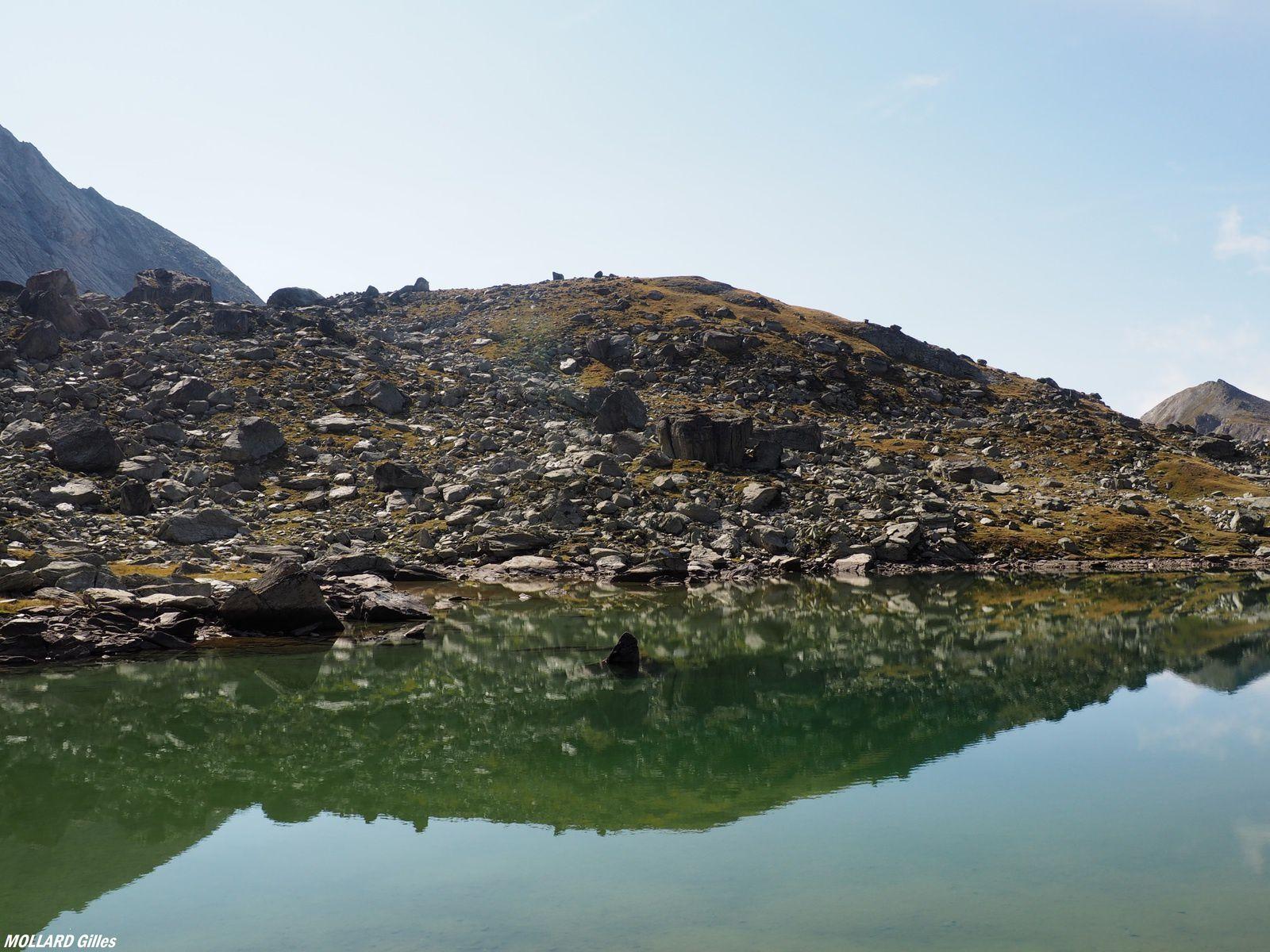 Le lac de la Partie,vallon de l'Orgère,parc de la Vanoise